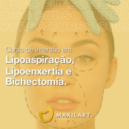 Curso de Imersão em Lipoaspiração, Lipoenxertia e Bichectomia